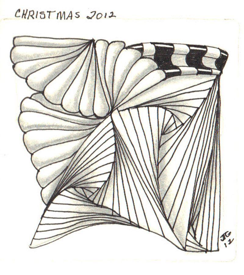 G-S Zentangle #29